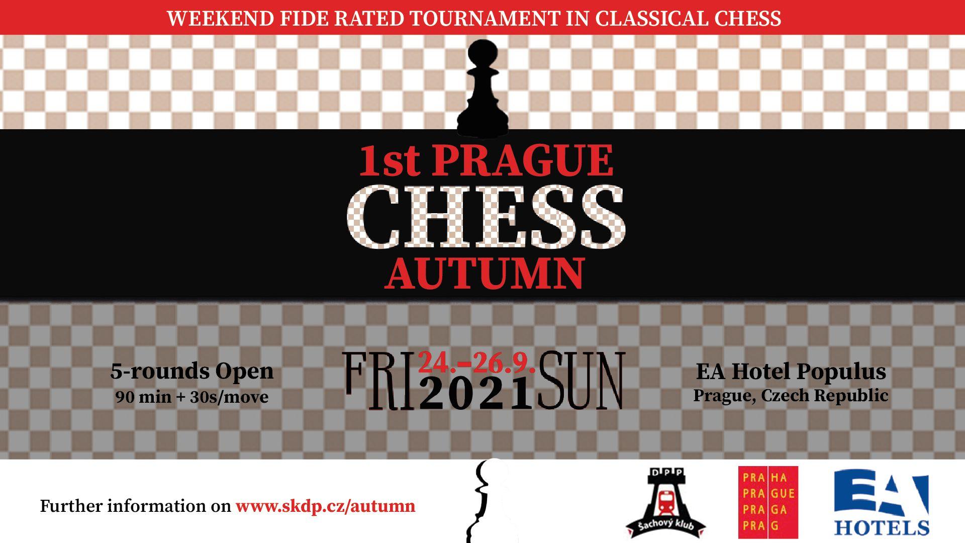 1st Prague Chess Autumn 2021 - poster